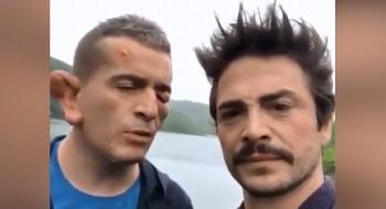 Murat Cemcir ve Ahmet Kural'ın görmediğiniz esprisi