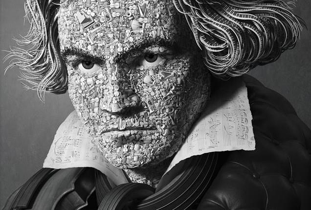 "Amazing Art 3D ""Beethoven"""