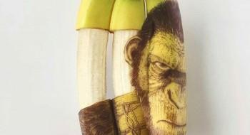 Banana Art by Stephen Bruche