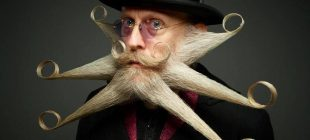Facial hair based creativity!