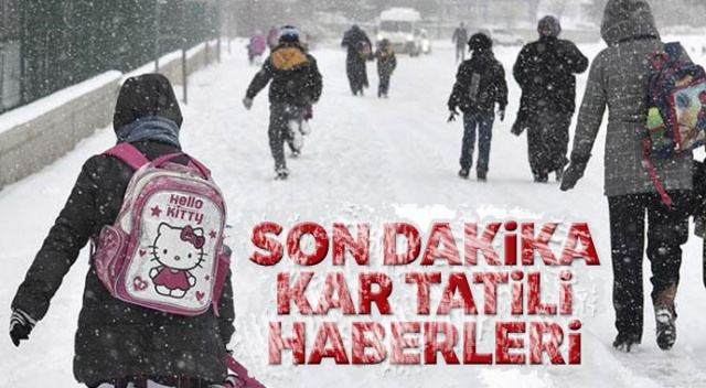 Kar Tatili! – Son Dakika