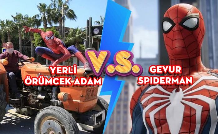 Türk Örümcek Adam ve Gevur Spiderman Arasındaki Farklar