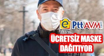 PTT Ücretsiz Maske Dağıtıyor!