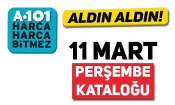 11 Mart'ta A101'e Gelecek Fırsat Ürünleri.