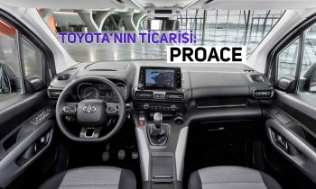 """Toyota'nın Yeni Ticarisi """"Proace"""""""